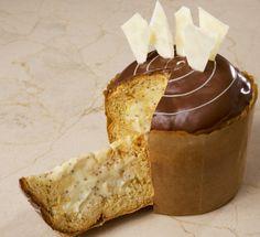 RECEITA: Panetone trufado recheado com chocolate branco