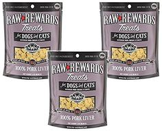 Northwest Naturals Raw Rewards Freeze Dried Liver Treats - Pork (3 Pack) * Check out the image by visiting the link. (This is an affiliate link and I receive a commission for the sales) #MyCat