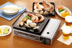 Iwatani cassette cassette grill