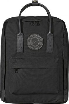 New from Fjällräven, Kånken No.2 Mini a completely black monochrome style backpack.  We LOVE. £120
