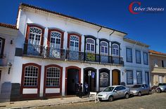 Casa Antigas - São João Del Rei - MG - Brasil Baroque, Brazil, Mansions, Architecture, House Styles, City, Colonial, Places, Design