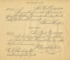 *The Graphics Fairy LLC*: Antique Clip Art - Spencerian Writing Sample Handwriting Styles, Cursive Handwriting, Penmanship, Vintage Clip Art, Vintage Ephemera, Vintage Music, Vintage Stuff, Clipart, Studying Funny