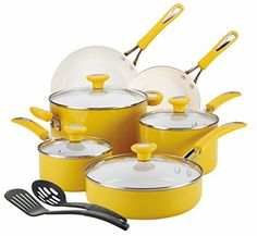 SilverStone Ceramic CXi Nonstick 12-Piece Cookware Set, Mango Yellow SilverStone http://www.amazon.com/dp/B00K8PQ9TI/ref=cm_sw_r_pi_dp_PsaXub1QEBDMV