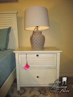 asian style nightstand in a dark finish love the koi fish lock