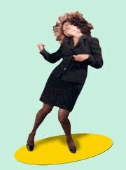 Elaine's crazy dance....Seinfeld season 8