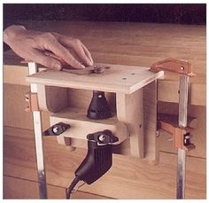 Mini Router Table - Woodwork City Free Woodworking Plans