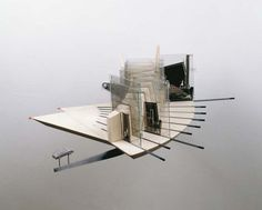 Rotational/ iterative model.   Physical model, architecture, study, translucent, concept, human experience, kinetic, section