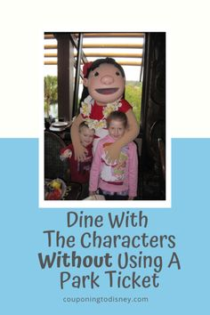 Dine With The Characters Without Using A Park Ticket Disney World Vacation Planning, Walt Disney World Vacations, Disney Cruise, Dining At Disney World, Disney Dining Plan, Anastasia And Drizella, Disney World Characters, Polynesian Resort, Disney World Restaurants