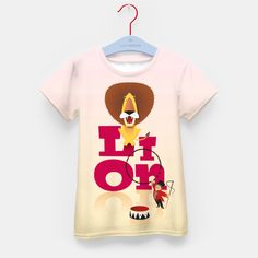 Circus Lion – Kid's t-shirt at Live Heroes by Pia Kolle