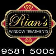 Rian's Window Treatments offers both interior and exterior decorating elements such as blinds, curta. Window Coverings, Window Treatments, Affordable Website Design, Custom Made Curtains, Web Design, Roller Shutters, Window Styles, Contact Paper, Moving House