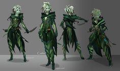 Sylvari, mostly for the hair