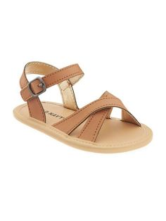 Cross-Strap Sandals for Baby