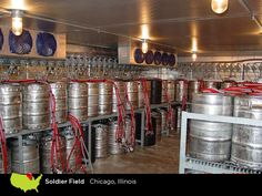 Perlick keeps the beer glasses filled at Soldier Field in Chicago, IL