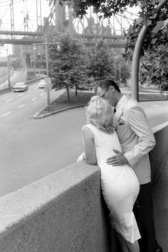 Together... Marilyn and Arthur, New York, by Sam Shaw