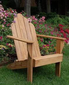 There's a reason why Tectona grandis is the wood of choice for our All-natural Teak Adirondack Chair and the world's most coveted yachts.
