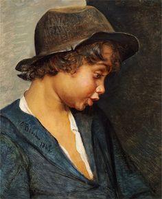 Carl Bloch - Italiensk Drengehoved (1865).jpg