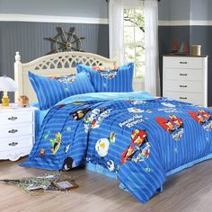 Angry Birds Blue Angry Birds Bedding Set