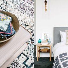 Combinações de cores para salas   Comprando Meu Apê Rugs, Blue, Home Decor, Color Combos, Modern Kitchens, Farmhouse Rugs, Decoration Home, Room Decor, Home Interior Design