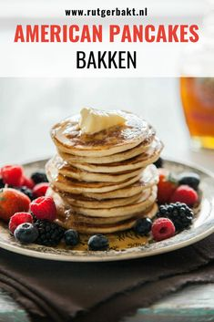 American Pancakes, Chocolate Chip Pancakes, Homemade Pancakes, Breakfast Muffins, Pancakes And Waffles, Lunch Snacks, Food Inspiration, Foodies, Sweet Treats