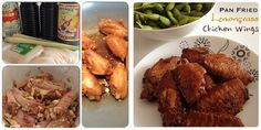 Pan Fried Lemongrass Chicken Wings | The Recipe Auditors | Follow @The Recipe Auditors