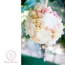 wedding pomander flower hanging ball reception table topper