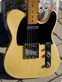 Fender / Telecaster Black'guard / 1954 / Blond Finish look at that wood grain! Vintage masterpiece!