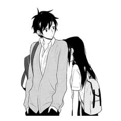 manga, anime, and horimiya image Manga Anime, Anime Couples Manga, Cute Anime Couples, Anime Kiss, Otaku Anime, Kawaii Anime, Kawaii Chibi, Anime Cosplay, Image Couple