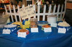 Poky Little Puppy Birthday Party Food