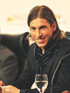 Sergio Ramos, Defender for Real Madrid and the Spanish National Team.  I loved him in the world cup!