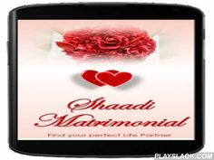 Shaadi Matrimonial  Android App - playslack.com ,  Shaadi Matrimonial App helps you to find or match your life partner all over the world.Now distance has no meaning find any where ever easiest.No registration charges,all features are available free of cost.It is very easy to use (User Friendly Matrimonial App)*****Features*****Login form where you can maintain your account.Skip Button is used to skip registration process.Content will be updated on regular basis so you will get new users…