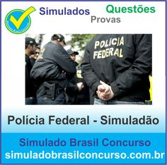 Bom dia Concurseiros, se você vai prestar o concurso da Polícia Federal, nós estamos com 2 Novos Simuladões. 1 de conhecimento básico e outro de conhecimento específico.  Teste seus conhecimentos e veja sua posição no Ranking.  http://simuladobrasilconcurso.com.br/simulados/concursos  Descubra!!! Compartilhe!!! Curta!!!  Muito Obrigada e Bons Estudos, Simulado Brasil Concurso  #SimuladoBrasilConcurso, #SimuladoPOLICIAFEDERAL