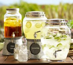 Glass Drink Dispenser | Pottery Barn