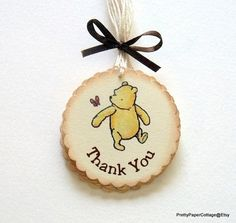 Hey, I found this really awesome Etsy listing at https://www.etsy.com/listing/191281724/winnie-the-pooh-thank-you-tags-baby