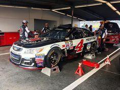 The boys are rolling the No. 4 Jimmy John's Chevrolet through #Daytona500 inspection. #DaytonaDay