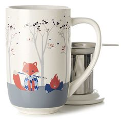 Learn more about Foxy Colour Changing Nordic Mug. Get all the information you need about Foxy Colour Changing Nordic Mug at DAVIDsTea Davids Tea, Tea Infuser, Tea Mugs, Mug Cup, Color Change, Tea Time, Tea Online, My Favorite Things, Tableware