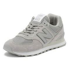 d37e77b04 New New Balance Mens Trainers Rain Cloud Grey 574 Classic Lace Up Sport  Casual Shoes Shoes