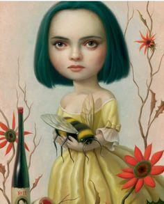 Christina Ricci by Mark Ryden