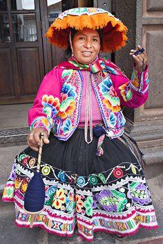 Traditional Dress  Cusco, Peru