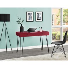 altra furniture owen retro desk with drawer red goedekerscom amazoncom altra furniture ryder apothecary