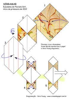 """Diagrama do Kusudama """"Conexão Serramar"""" pg 1"""