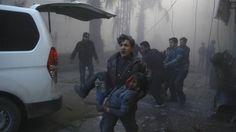 100 Killed in run up to Syria ceasefire