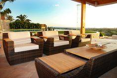 Reform of terrace with sea view in Maspalomas, Gran Canaria.