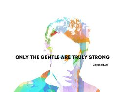 James Dean Quote Art Print - emotional intelligence trumps all