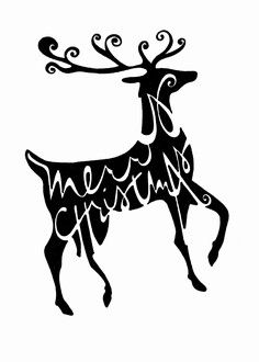 """Merry Christmas Reindeer"": Double-Matted in White, Plastic-Sleeved & Hand-Signed by the artist. 5x7 is $12 (+ shipping) 8x10 is $20 (+ shipping) 11x14 is $28 (+ shipping) www.VonGArt.com (Saying, Quote, Inspiration, Reminder, Life Lessons, Memories, Love, Family, Funny, Relationship, Bond, Friends, X-Mas, Rudolf the Red Nose, Sleigh, Santa, Wreath, Bucket List, Art, Tattoo)"