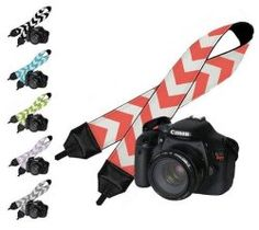 Cool Travel Gifts: Camera Strap