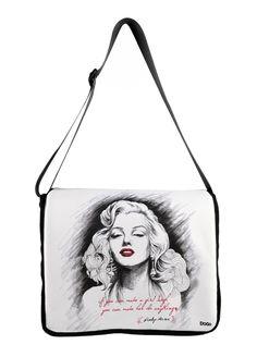 Marilyn Monroe Çanta - 83 x 36,5 x 11 cm Markafoni'de 129,90 TL yerine 48,99 TL! Satın almak için: http://www.markafoni.com/product/3643238/