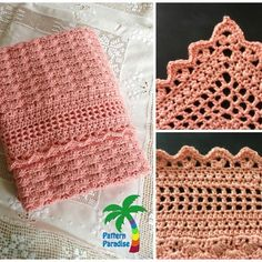 Free crochet pattern for essentials baby blanket.