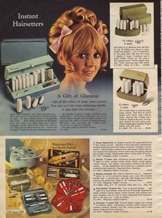 1969 ~ Sears Christmas Catalog. I had the blue set. Used them for YEARS!
