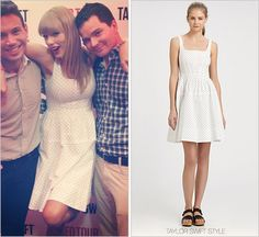 RED Tour Meet & Greet | East Rutherford, NJ | July 13, 2013 Thanks Meg! Marc Jacobs 'Dotty Fit and Flare Dress' - $151.20 In...