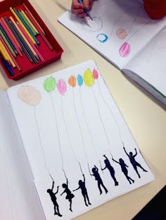Dessiner des ballons MATERNELLE moyenne section Motor Skills Activities, Fine Motor Skills, Toddler Activities, Handwriting Lines, Kids Class, French Class, Science Art, Decoupage, Graphic Art